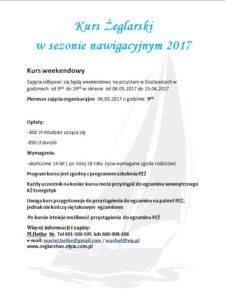 Plakat kurs 2017